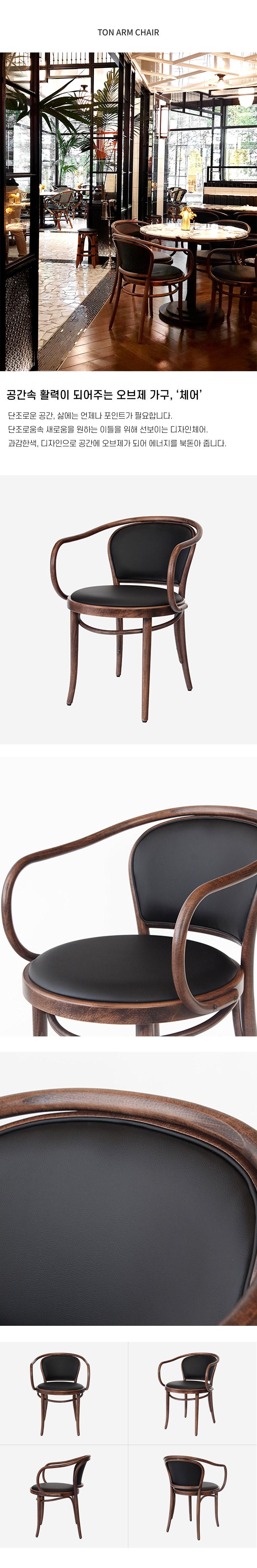 로이퍼니처랩 톤 암체어 - 로이퍼니처랩, 842,500원, 디자인 의자, 인테리어의자